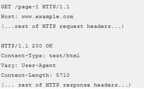 Vary HTTP 标头