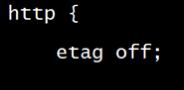 Nginx开启ETag,百度sitemap优化